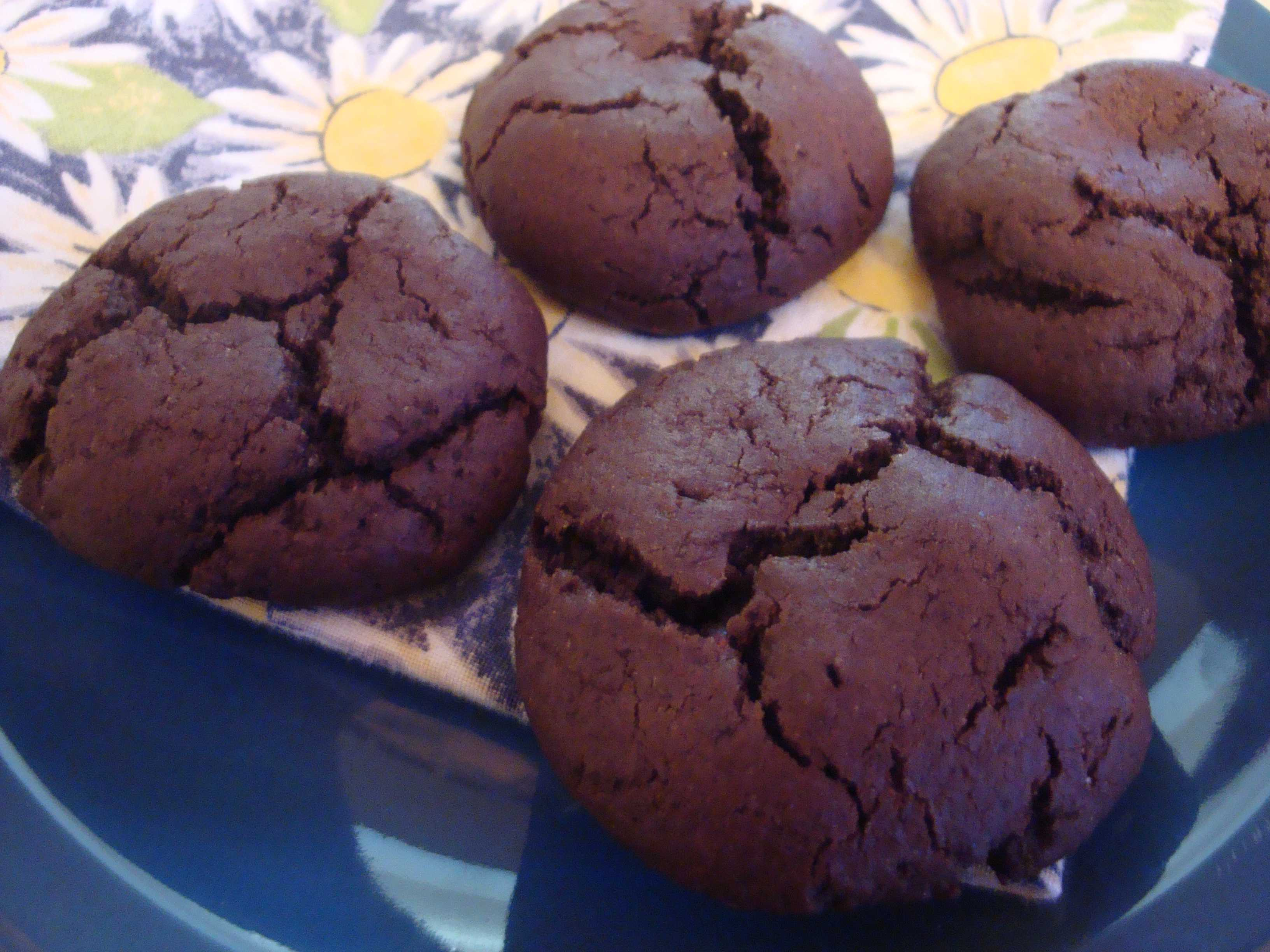 Chewy Chocolate Raspberry Cookies | Happy Domesticity