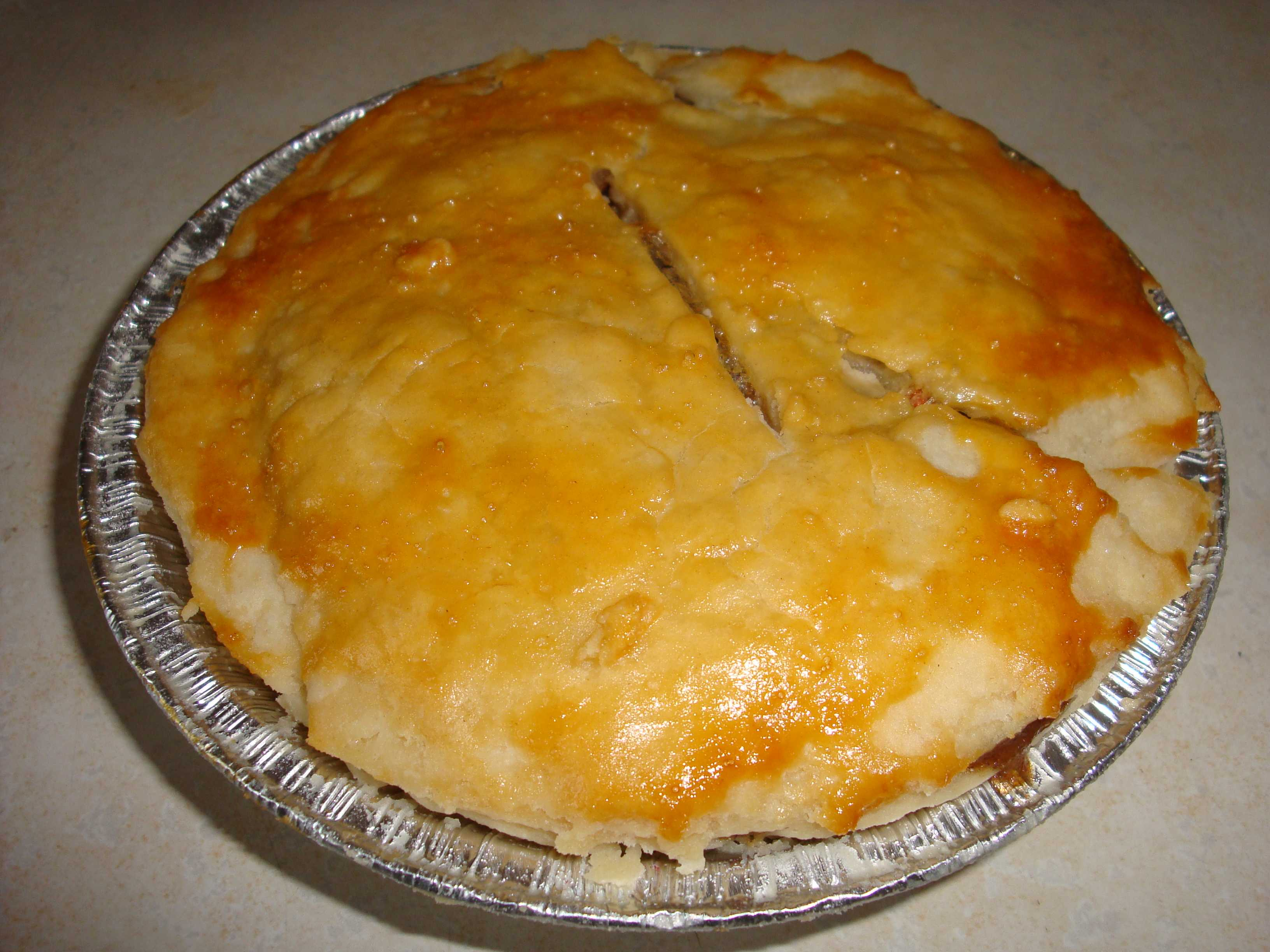 Ground Beef Meat Pie | Happy Domesticity