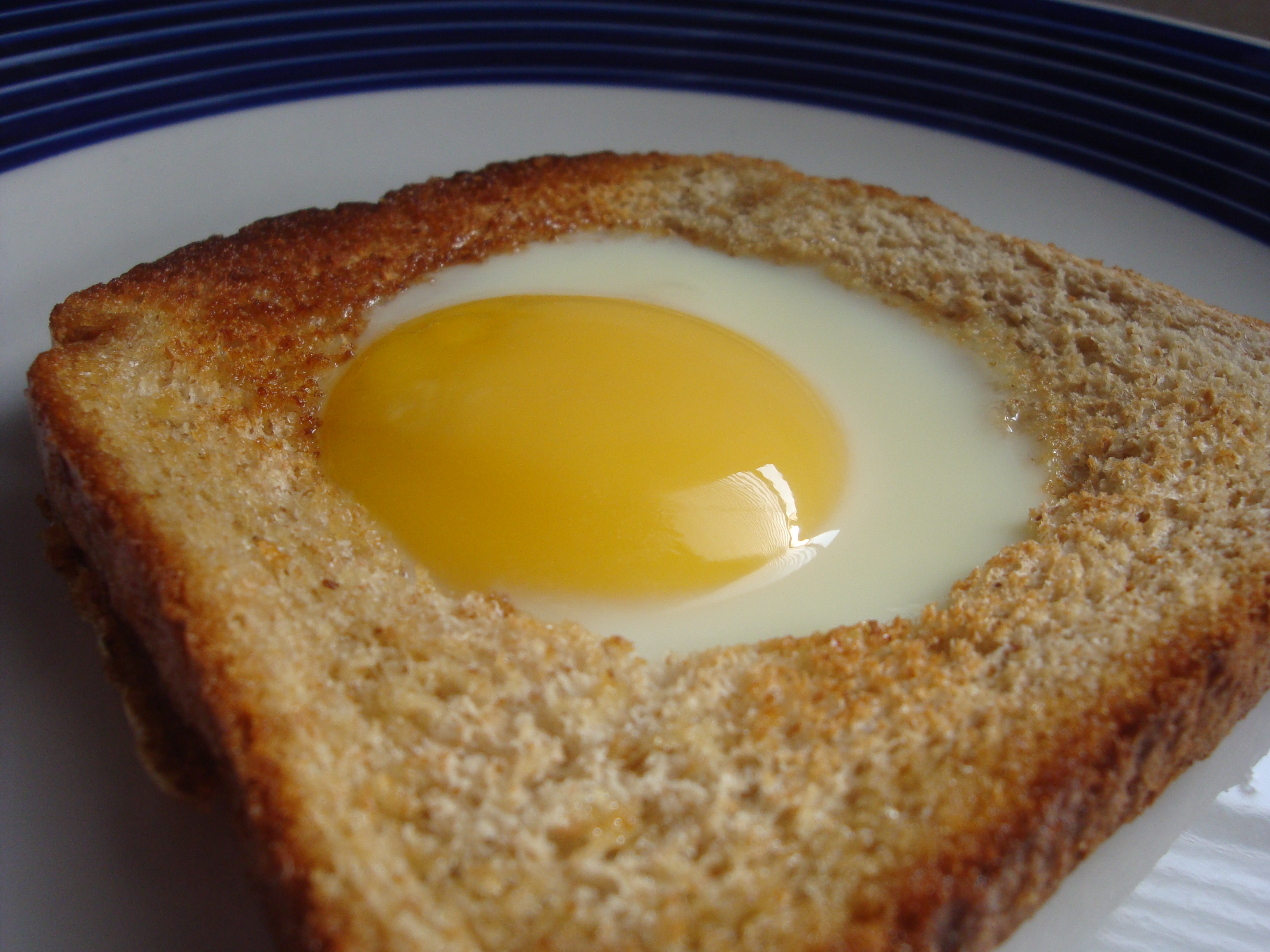 Egg in a Hole | Happy Domesticity