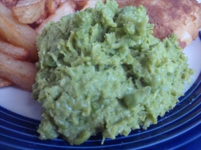 Faux Mushy Peas
