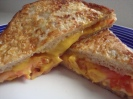 Tomato Croque Monsieur Sandwich