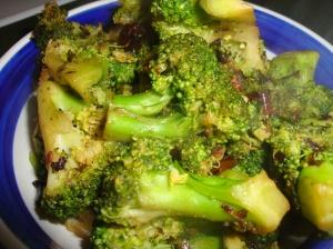 Spicy Stir Fried Broccoli