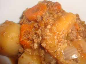 "Irish Stew - or ""Stewed Bugs and Onions"""