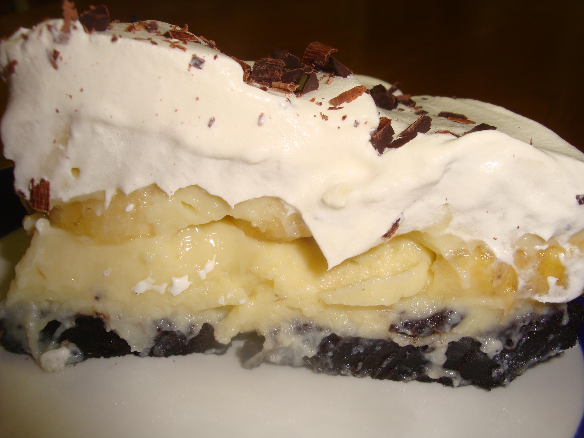 Banana Cream Pie | Happy Domesticity
