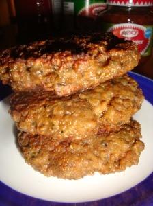 Vegetarian TVP Burgers