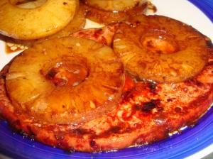 Hawaiian Ham Slices