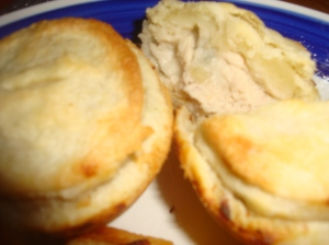 Mini Chicken with Broccoli and Mushroom Pot Pies
