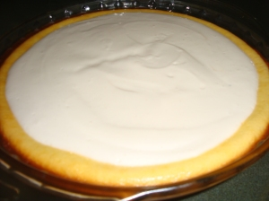 Crustless Baked Cheesecake