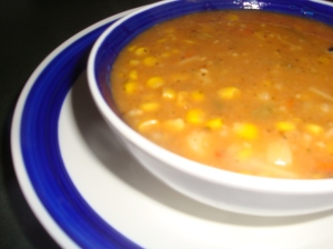 Tomato and Corn Chowder
