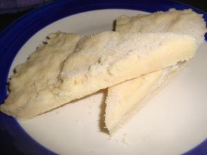 Shortbread slices