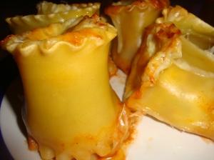 Individual Lasagne Cups