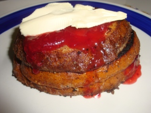 "Great Aunt Florence's ""Strawberry Cheesecake"" French Toast"