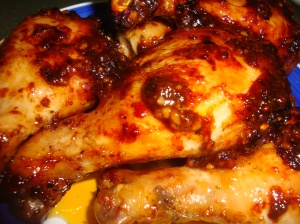 Caramelised Baked Chicken