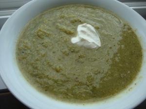 Super Simple Broccoli Soup