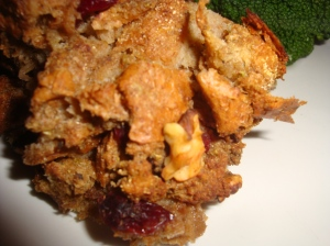 Cranberry and Walnut Stuffing