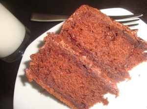 Nigella Lawson's Chocolate Fudge Cake
