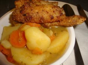 Fried Chicken Stew